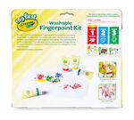 My First Washable Fingerpaint Kit packaging and product