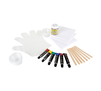 Signature Paint-Pour Canvas Kit Contents