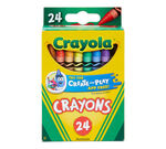 Crayons 24 Count Front View of Package