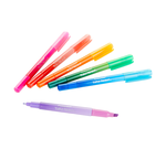 Take Note Dual Tip Highlighter Pens, 6 Count Front View