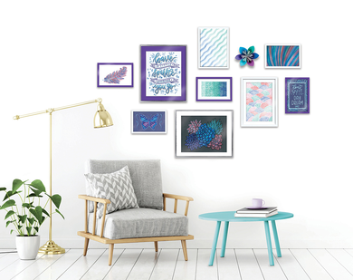 Signature DIY Gallery Designer Wall Art Set