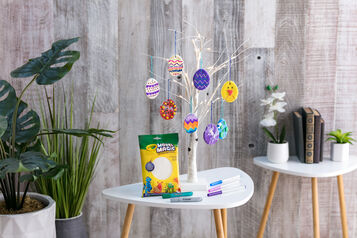 Model Magic Easter Egg Ornaments Craft and Craft Kit Components