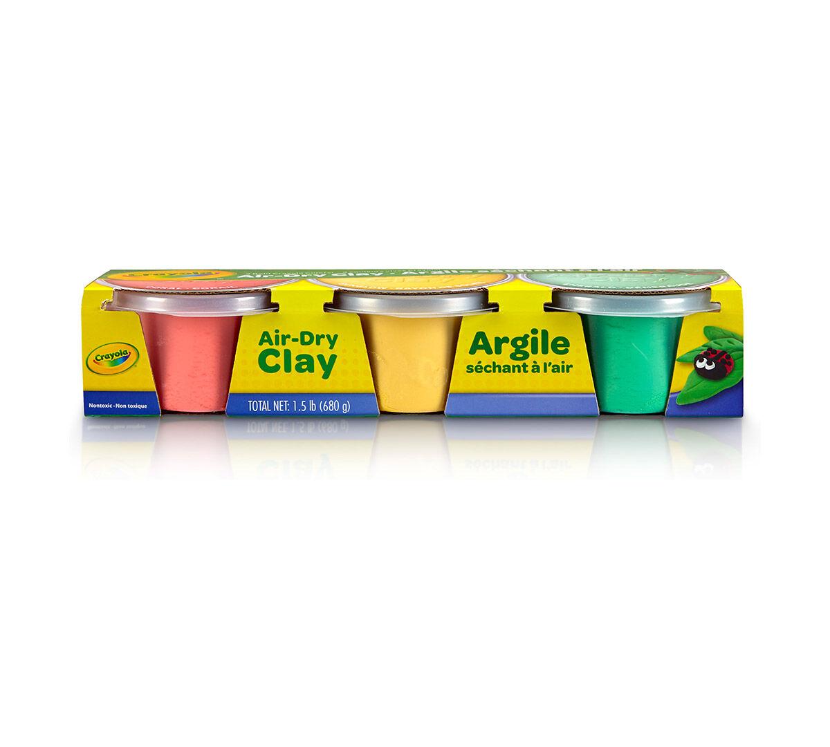 Air-Dry Clay Pastel Assortment - Crayola