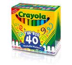 40 count Broadline Washable Markers Open box