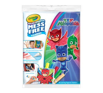 Color Wonder Mess Free Coloring Pad & Markers, PJ Masks