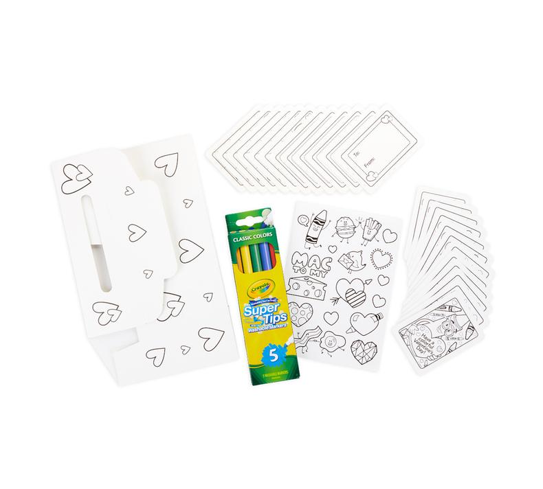 Valentine's Day Mailbox Craft Kit