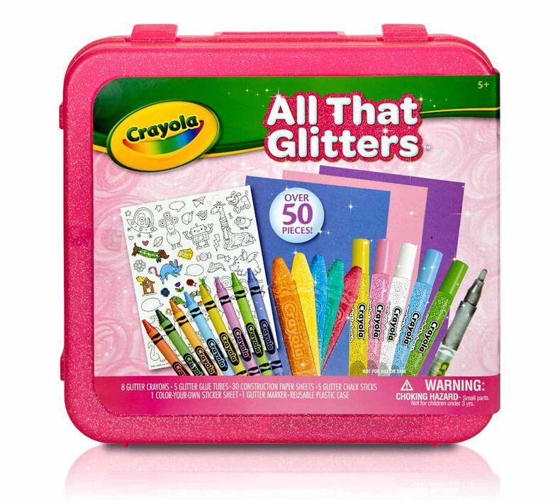 All That Glitters Art Case
