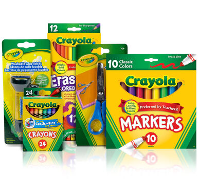 Essential Elementary School Supplies Kit