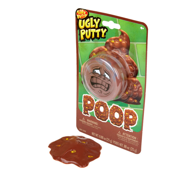Silly Putty Ugly Putty, Poop, 1 Count