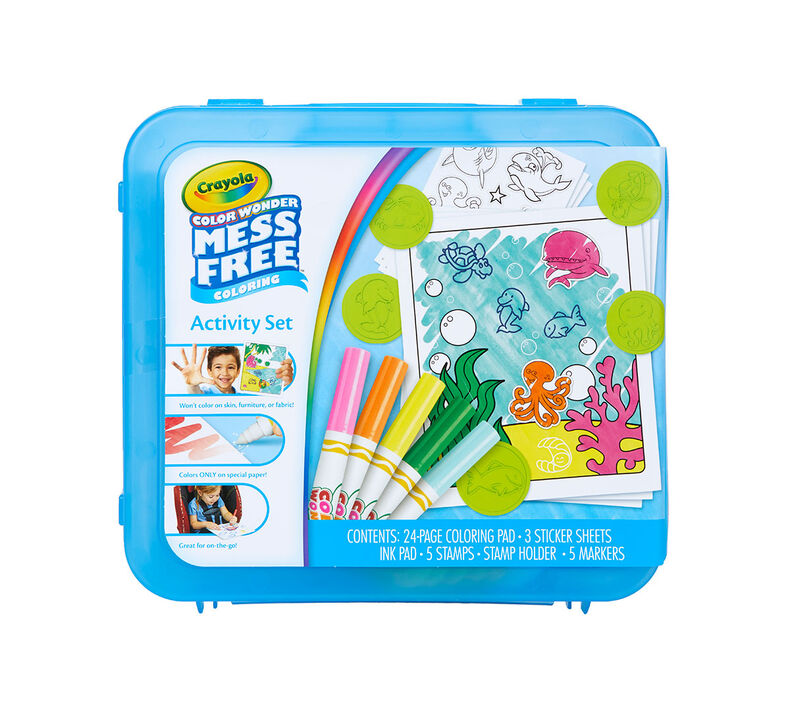 Color Wonder Mess Free Art Kit