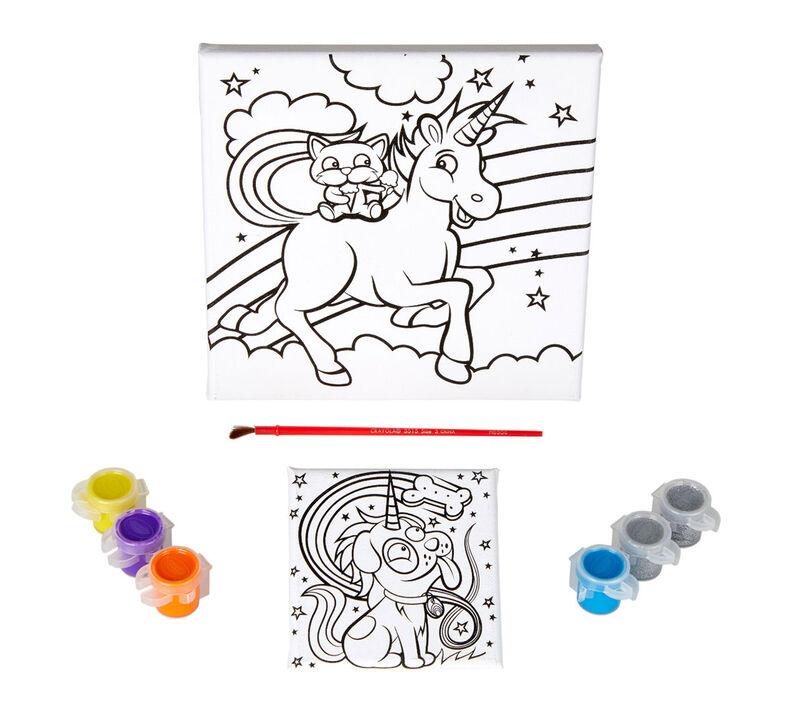 Uni-Creatures Unicorn Canvas Craft Kit