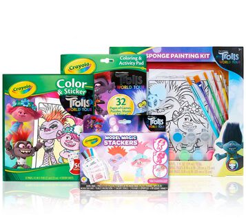 4-in-1 Trolls World Tour Activity Set