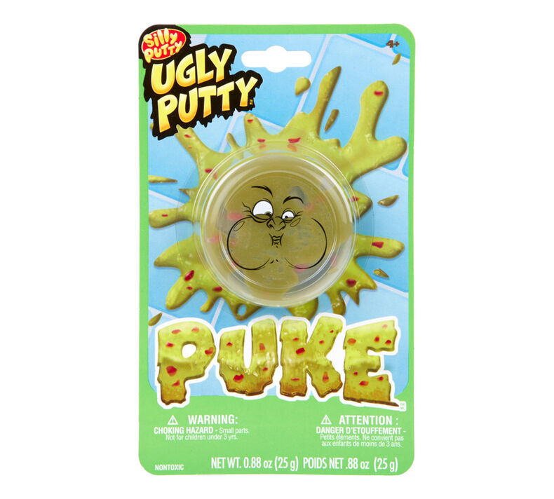 Silly Putty Ugly Putty, Puke, 1 Count