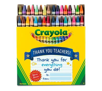 Crayola Thank a Teacher 64 Ct Crayons