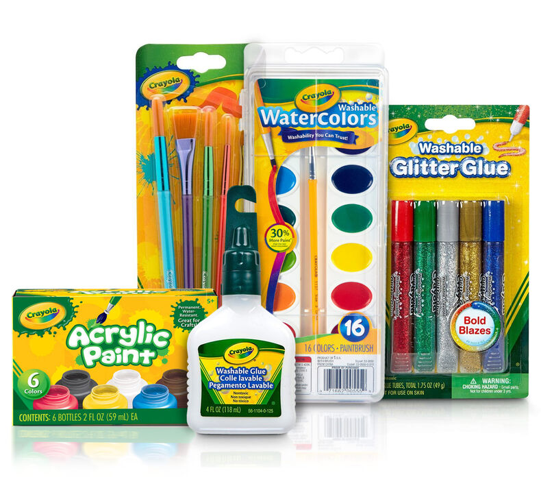 Black Glue Galaxy Painting Craft Kit