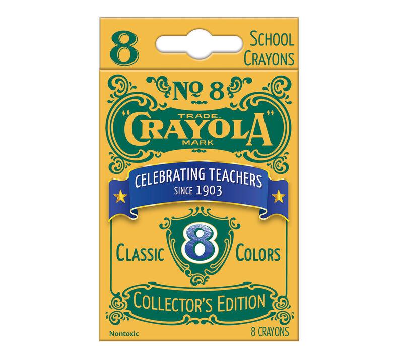 8 ct. Vintage Crayons
