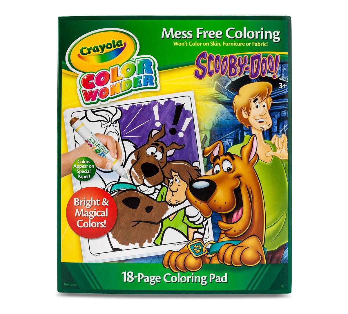 Color Wonder Scooby Doo 18 Page Coloring Book