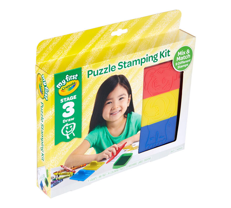 My First Crayola Stage 3 Puzzle Stampers