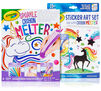 Sparkle Crayon Melter with Sticker Art Set