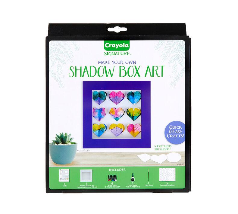 Signature Shadow Box Frame Craft Kit