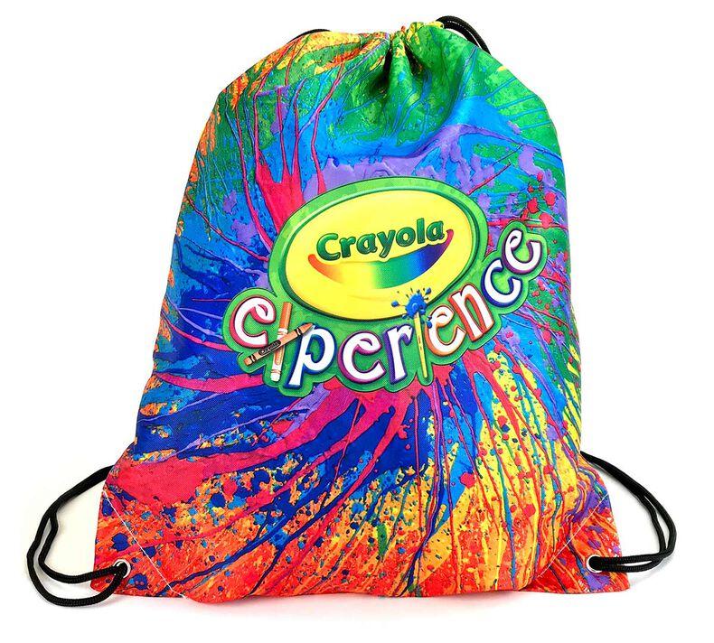 Tie-Dye Drawstring Bag