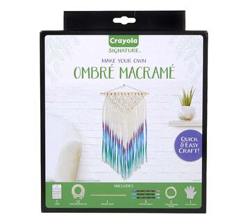 Signature Ombre Macrame Wall Hanging Kit