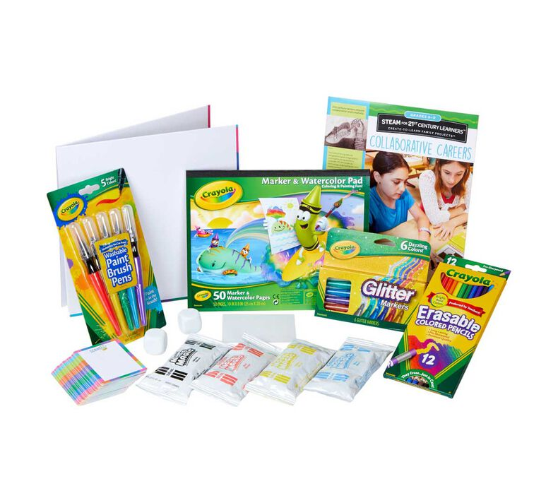 creatED Create-to-Learn STEAM Activity Kit, Grades 6-8