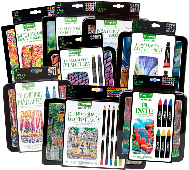 Signature 8-in-1 Art Tools Gift Set - You Pick