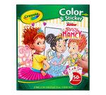 Color & Sticker Book, Fancy Nancy Front View