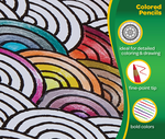Crayola Colored Pencils Front View 12 count