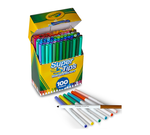 Washable Super Tips Markers, 100 Count Front View