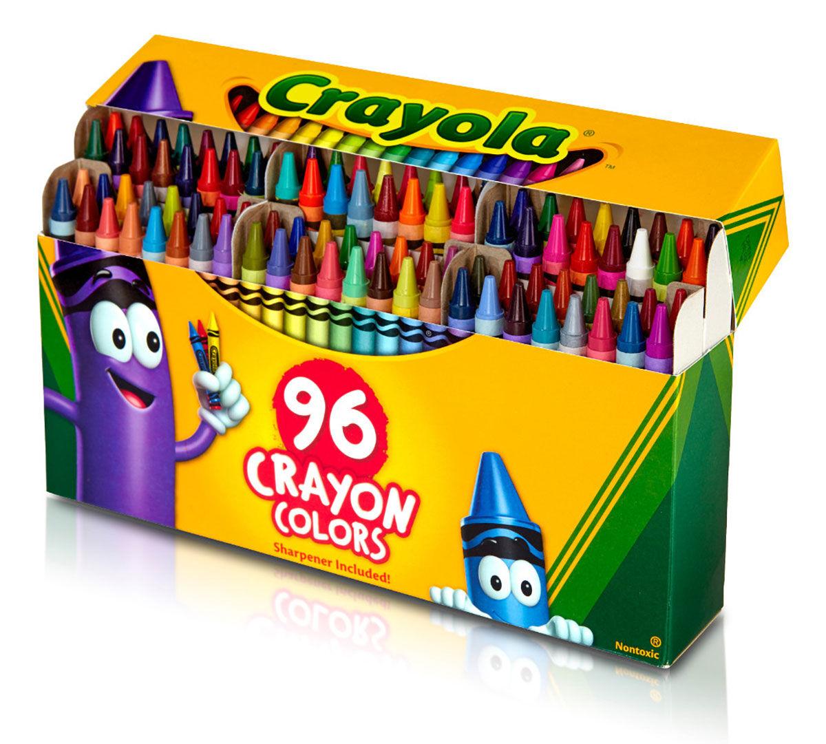 Crayola Crayons 96 Ct Crayola
