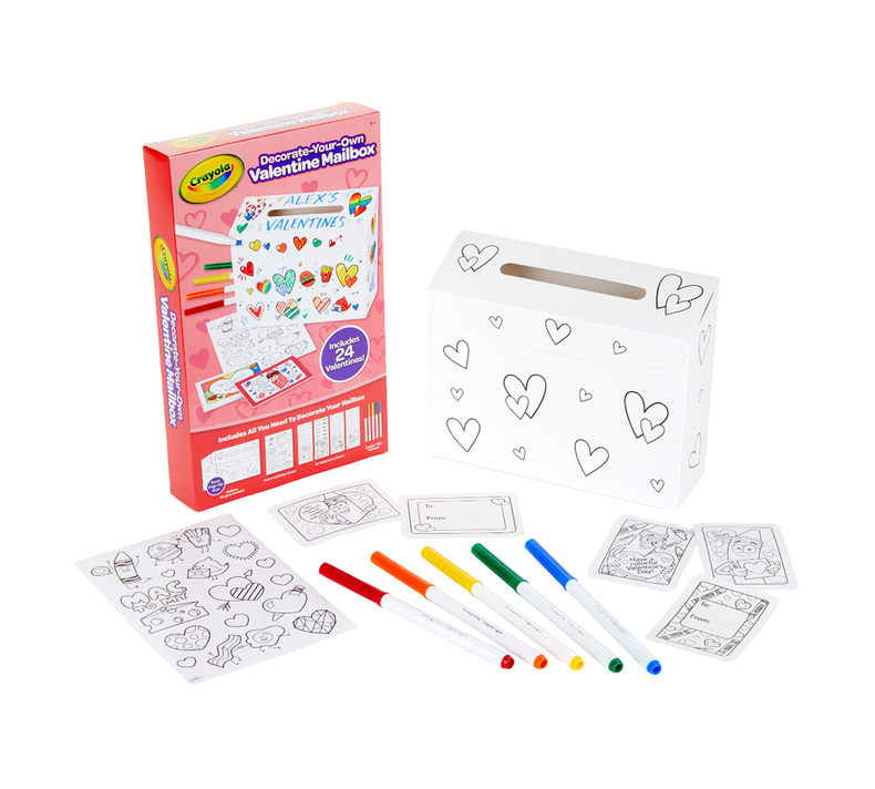 Valentine's Day Mailbox Craft Kit