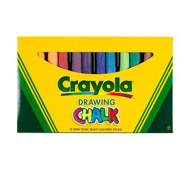 Art Chalk Assorted Colors  12 ct.