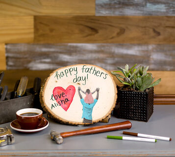 CIY Materials Kit-Father's Day Wood Plaque