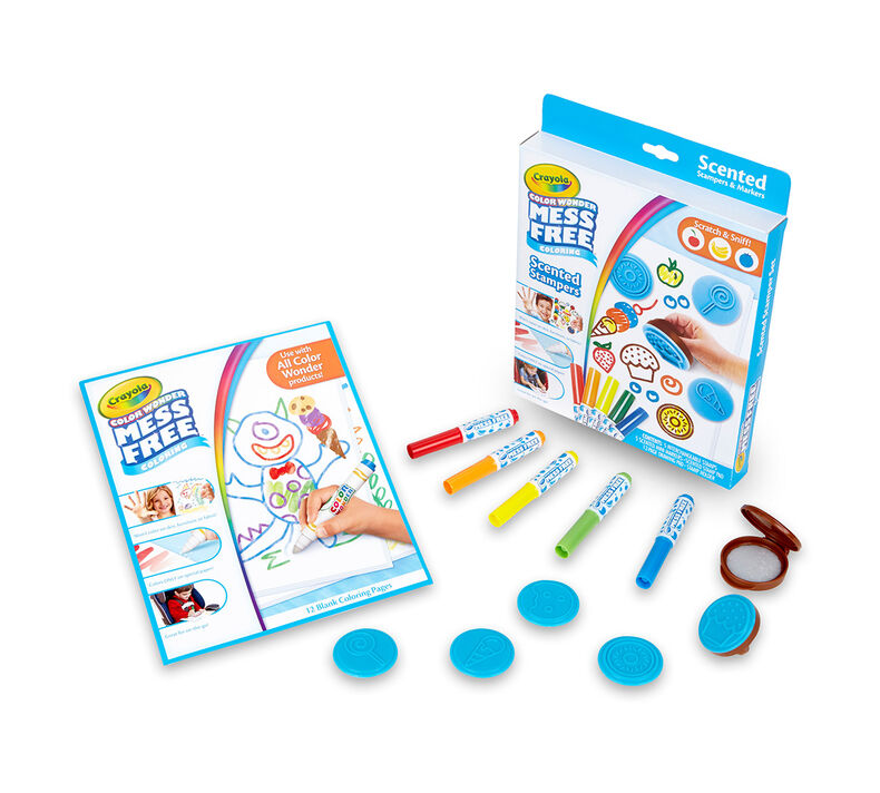Color Wonder Mess Free Scented Stampers