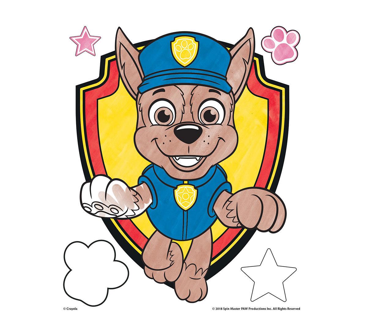 Color Wonder Paw Patrol Coloring Pages Set Crayola.com Crayola