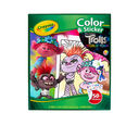 Trolls Color & Sticker Book
