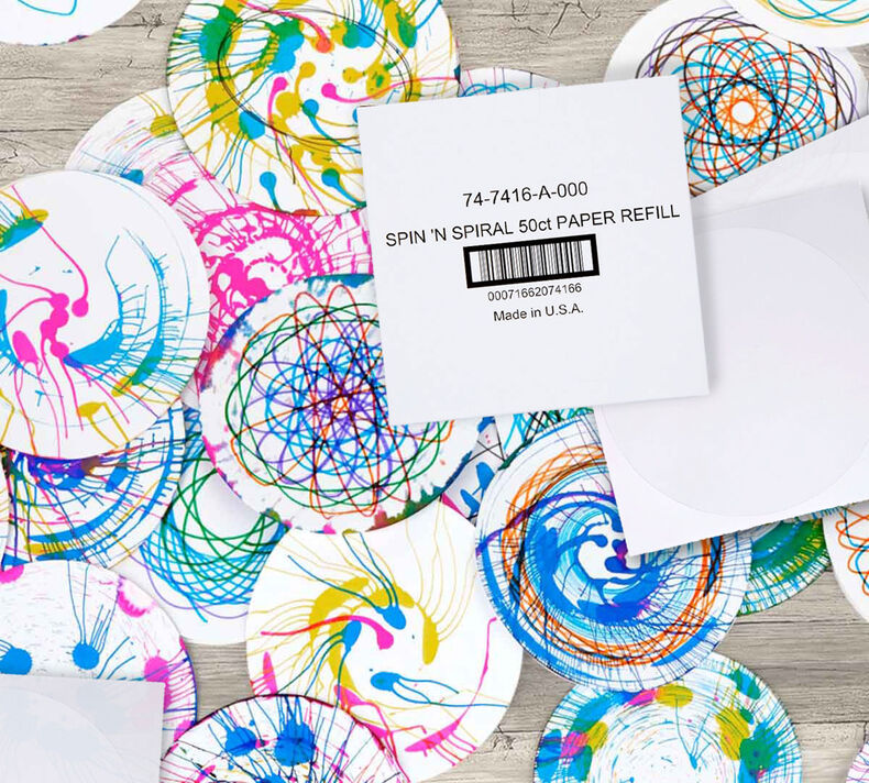 Spin & Spiral Art Station Paper Refill Set