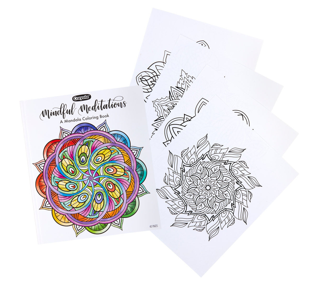 - Mandala Coloring Book, 40 Coloring Pages Crayola.com Crayola