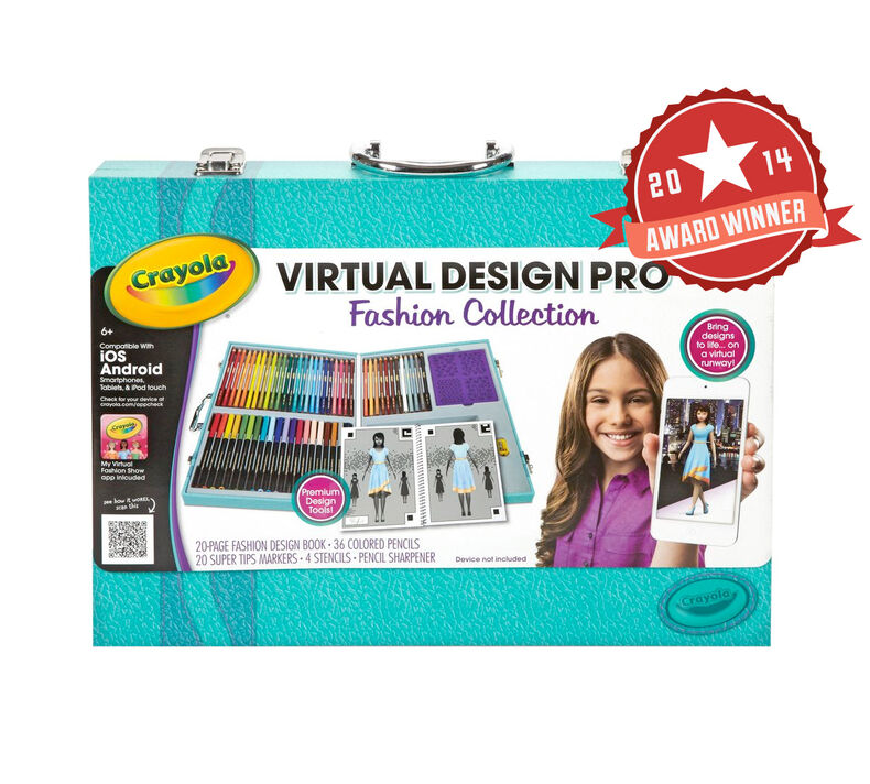 Virtual Design Pro Fashion Collection Crayola