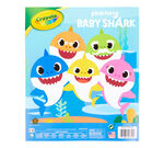Baby Shark Coloring Book Front Cover