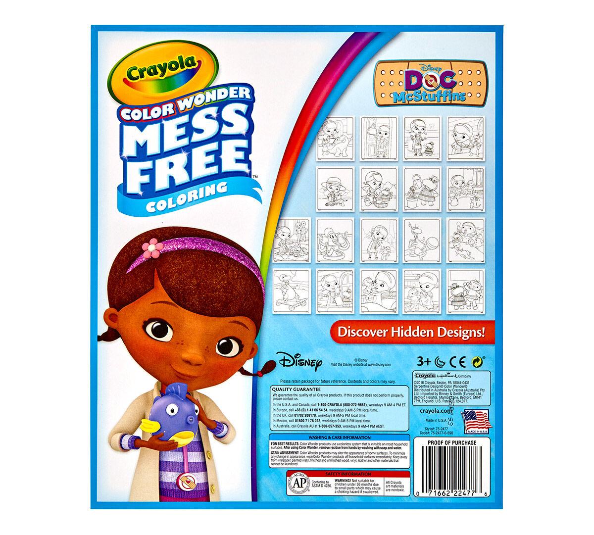 Color Wonder Mess Free Coloring Pad, Doc McStuffins - Crayola