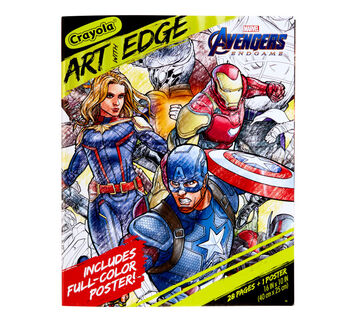 Art with Edge Marvel Avengers Endgame Coloring Book