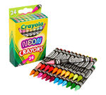 Neon Crayons, 24 Count