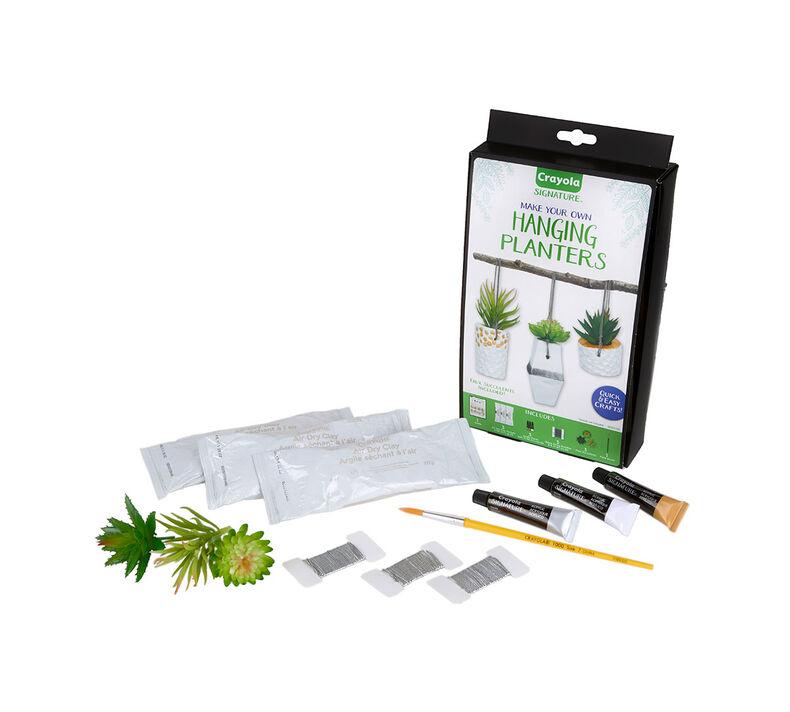 Signature DIY Hanging Planter Craft Kit