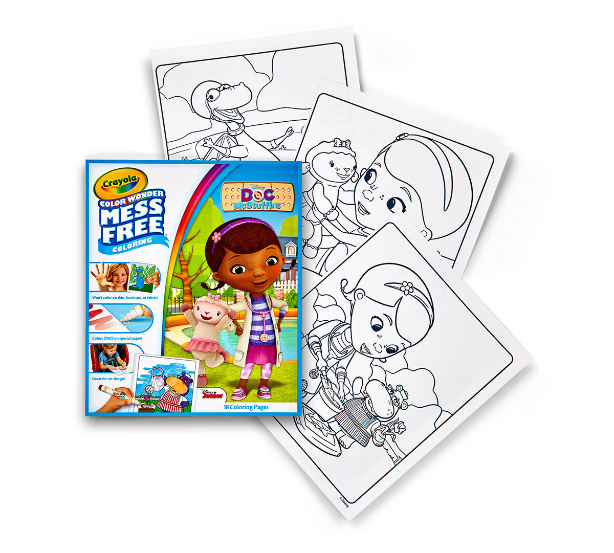 Doc mcstuffins coloring pages to color online - Color Wonder Coloring Pad Doc Mcstuffins