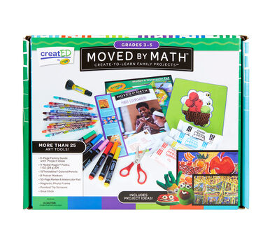 creatED® Family Engagement Kits, Moved by Math: Grades 3-5: Math Everywhere