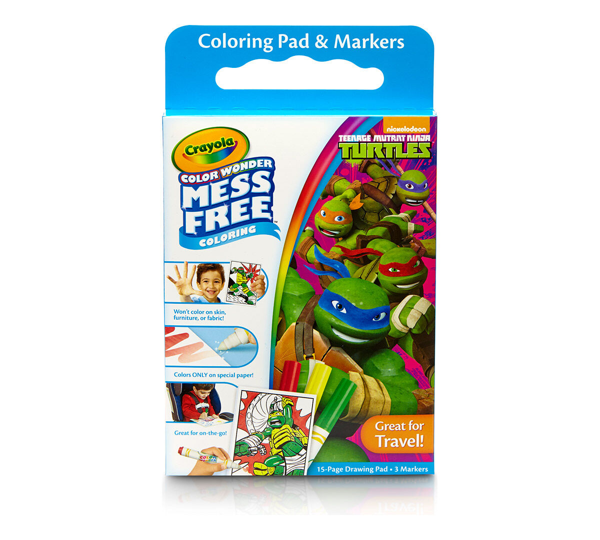 Color Wonder Teenage Mutant Ninja Turtle - Crayola