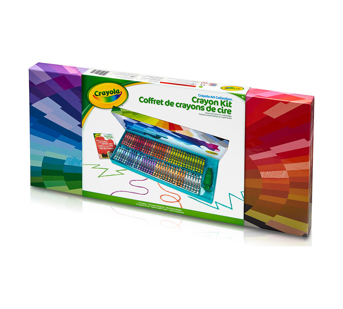 Crayola 65 Piece Hardcase Kit Pencils Design Sketch Stocking